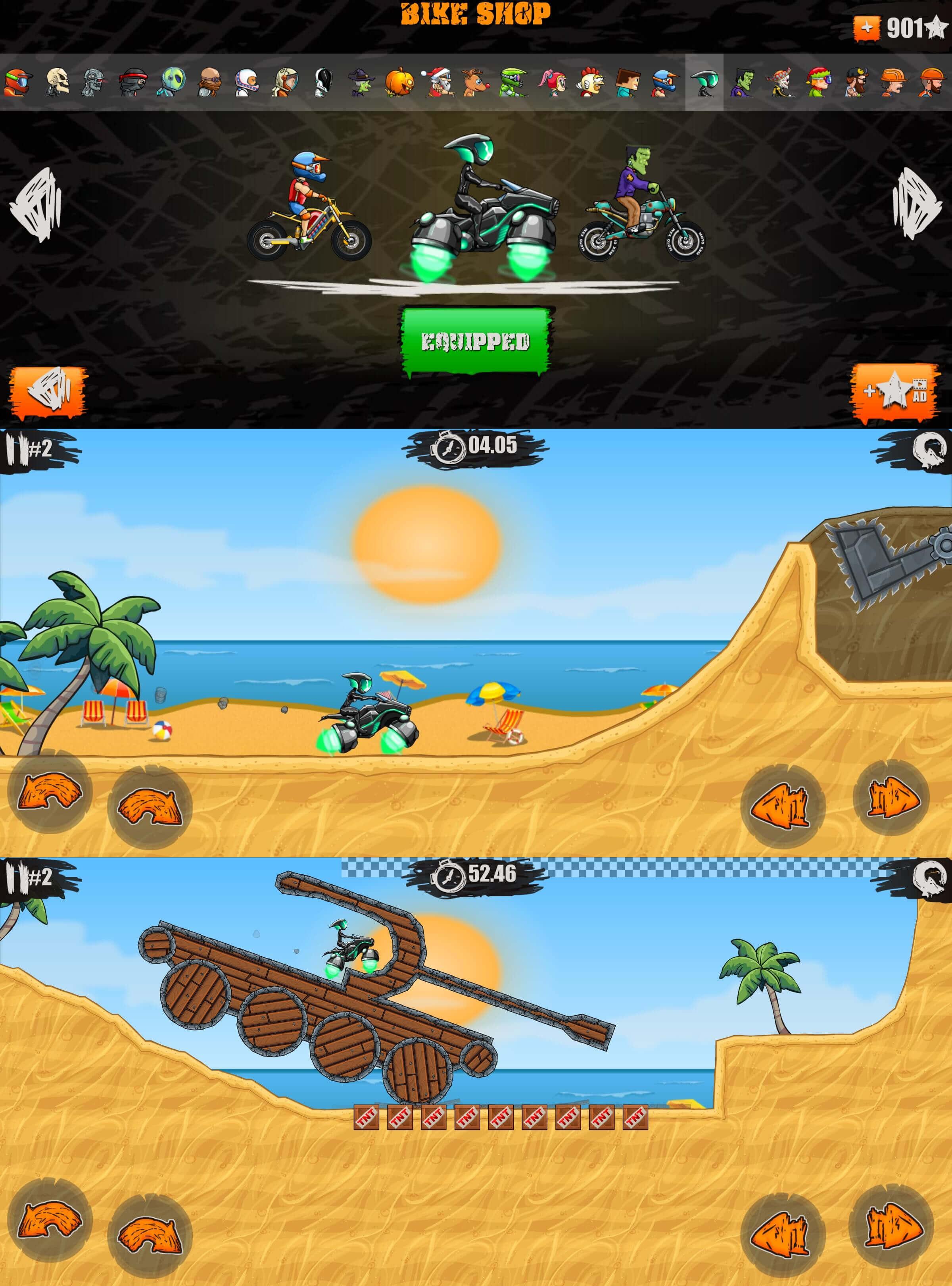 安卓游戏狂野飚客3破解版截图1